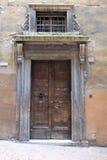 Portes antiques dans la ville de Pérouse photographie stock