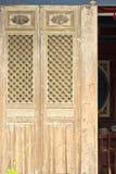 Portes antiques traditionnelles chinoises photo libre de droits