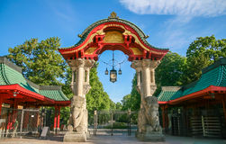 Portes au zoo de Berlin Photo stock