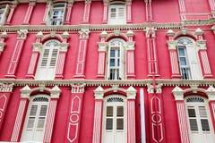 Portes colorées chez Melaka, Malaisie Photographie stock