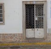 Portes décoratives de ferronnerie Photographie stock libre de droits
