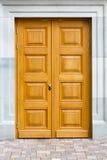 Portes décoratives en bois photo stock