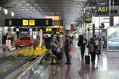 Portes d'aéroport de Bruxelles Images libres de droits