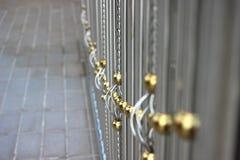 Portes d'alliage Photo stock