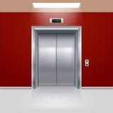 Portes d'ascenseur Photos stock