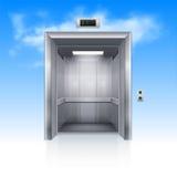 Portes d'ascenseur Photo libre de droits