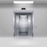 Portes d'ascenseur Image libre de droits