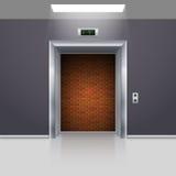 Portes d'ascenseur Photo stock