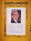 Portes d'exposition pour les victimes d'Auschwitz Photographie stock
