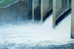 Portes d'inondation Photo libre de droits