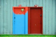 Portes de Boatshed image libre de droits