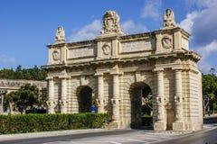 Portes de Bombes cerca de Floriana Foto de archivo libre de regalías
