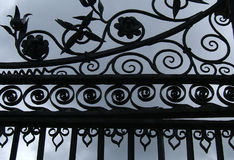 Portes de château Photographie stock