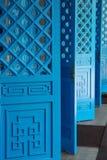 Portes de chinois traditionnel photographie stock