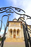 Portes de ciel (église orthodoxe roumaine) Images libres de droits