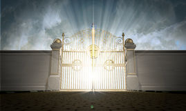 Portes de cieux fermées Photo libre de droits
