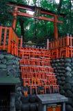 Portes de Fushimi Inari Torii Photo libre de droits