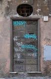 Portes de graffiti à Rome Photos stock