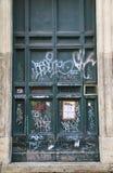 Portes de graffiti à Rome Image libre de droits
