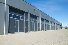 Portes de hangar Photographie stock