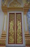 Portes de maison de Bouddha, temple Photo libre de droits