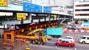 Portes de péage au hom accroché, Hong Kong Image stock