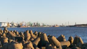 Portes de port de klaipeda Image libre de droits