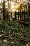 Portes de réserve naturelle de Mahananda photos stock