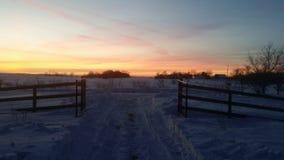 Portes de ranch photographie stock libre de droits