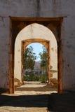 Portes de ruine Image libre de droits