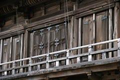 Portes de temple Image libre de droits