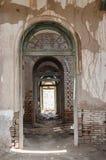Portes des salles dans le fort Bahawalpur de Derawar Photos stock