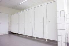 Portes des toilettes Photo libre de droits