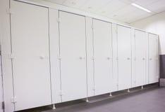 Portes des toilettes Photographie stock libre de droits