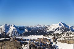 Portes du Soleil Royalty Free Stock Images