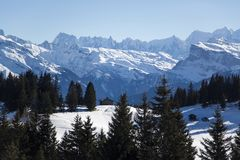 Portes du Soleil Royalty Free Stock Photography