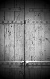 Portes en bois Image libre de droits