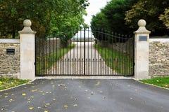Portes et allée Image stock