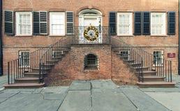 Portes et entrées scéniques, architecture unique, vieille, ornée Photo libre de droits