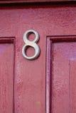 Portes et portes en bois et en métal Photos stock
