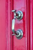 Portes et portes en bois et en métal Images stock