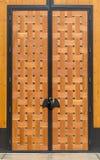 Portes grandes d'établissement vinicole Photo libre de droits