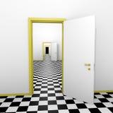Portes infinies illustration de vecteur