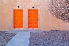 Portes intéressantes Image stock