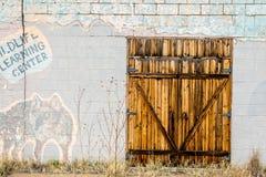 Portes intéressantes Photographie stock