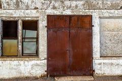 Portes intéressantes Photos libres de droits