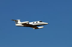 Portes Learjet 23 Photographie stock libre de droits