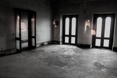 Portes, lumière et ombre Images libres de droits