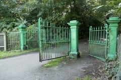 Portes militaires d'entrée de cimetière de Netley Image stock