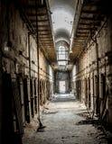 Portes orientales de cellules de prison d'état photo stock